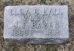 Ella C. <i>Hall</i> Bacon
