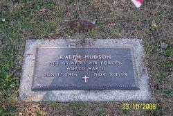 Sgt Ralph Hudson