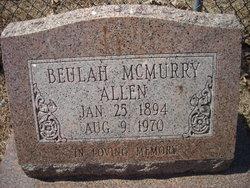 Beulah <i>McMurry</i> Allen