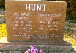 Oma Rowena <i>McKinney</i> Hunt