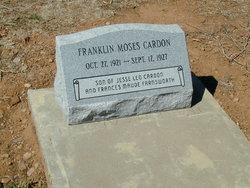Franklin Moses Cardon
