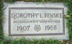 Dorothy E <i>Leach</i> Fenske
