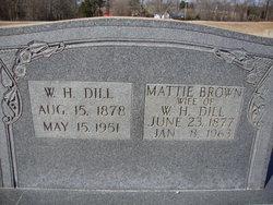 Mattie <i>Brown</i> Dill