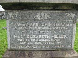 Dr Thomas Benjamin Amiss