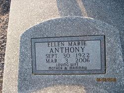 Ellen Marie <i>Childress</i> Anthony