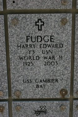 Harry Edward Fudge