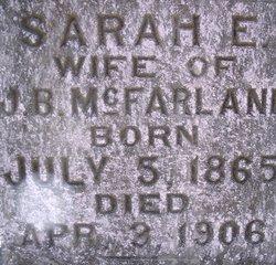 Sarah E McFarland