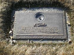 Betty Jane <i>Landess</i> Travis