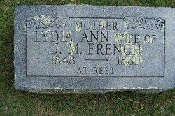 Lydia Ann <i>Bryan</i> French