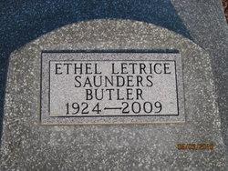 Ethel Letrice <i>Saunders</i> Butler