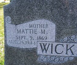 Mattie Mae <i>Jeffers</i> Wicker