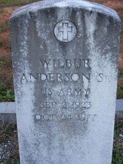 Wilbur Anderson, Sr