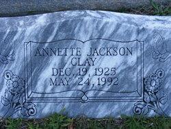 Annette <i>Jackson</i> Clay