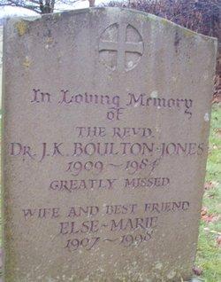 Rev J K Boulton-Jones