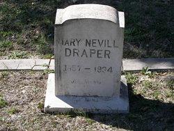Mary <i>Nevill</i> Draper