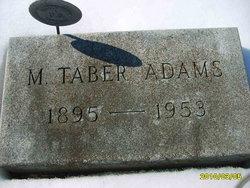 Martin Taber Adams