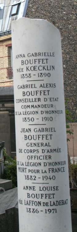 Gen Jean Gabriel Bouffet