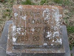 Mamie F. Adams