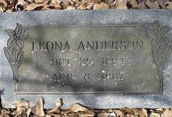 Mary Leona <i>McCluney</i> Anderson