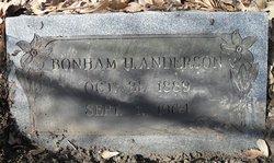 Bonham H Anderson