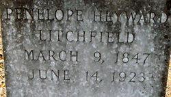 Penelope <i>Heyward</i> Litchfield