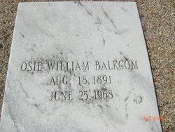 Osie William Balkcom