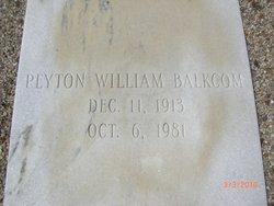 Peyton William Balkcom