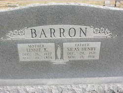 Lina Kathleen Linnie <i>Young</i> Barron