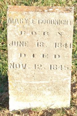 Mary E. Goodnight