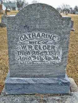 Mary Catharine <i>Johnson</i> Elder
