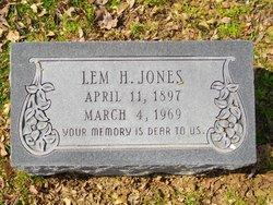 Lemuel H. Lem Jones