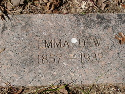 Emma Elizabeth <i>Williamson</i> Dew