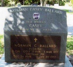 LCpl Norman Casey Ballard