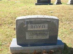 Cecil Euin Boyd