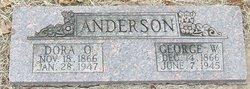 Dora Olive <i>Thompson</i> Anderson