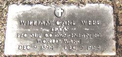 William Carl Webb