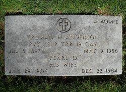 Truman H Anderson