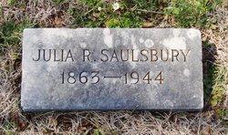 Julia Eliza <i>Rogers</i> Saulsbury