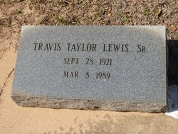 Travis Taylor Lewis, Sr
