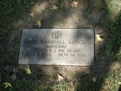 PFC Gary Randall Savory
