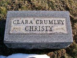 Clara Margaret <i>Crumley</i> Christy