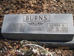 Clarice <i>Wilson</i> Burns