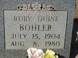 Ruby Lee <i>Quine</i> Bohler