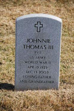 Johnnie Thomas, III