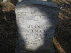 Maude B <i>Short</i> Aleshire