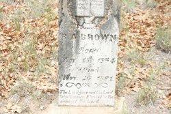 Benjamin Aaron Brown