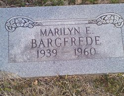 Marilyn E <i>Buford</i> Bargfrede