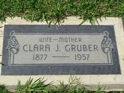 Clara Johanna <i>Walters</i> Gruber