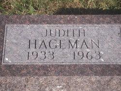 Judith <i>Richards</i> Hageman