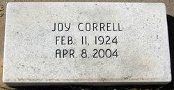 Joy <i>Fender</i> Correll